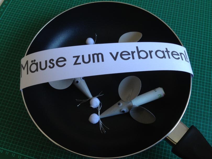 Mause Zum Verbraten Judithskreativwerkstatt